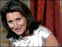 Former French first lady Cecilia Ciganer-Albeniz