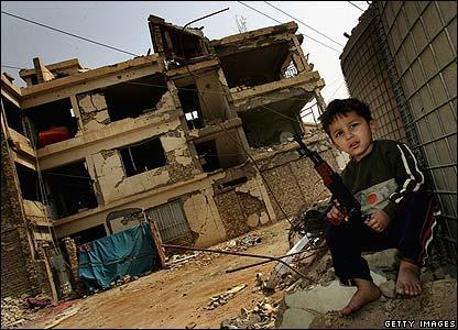Boy in Baghdad, 19.03.08