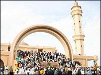 The Gaddafi National Mosque in Kampala, Uganda