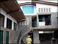 Gracia's school in Kinshasa, DR Congo