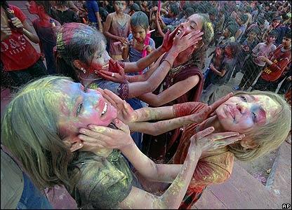 Holi festival 20.03.08