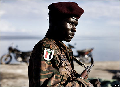 Sudan African Union forces 20.03.08