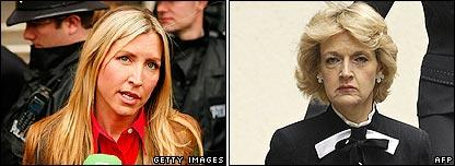 Heather Mills and Sir Paul McCartney's lawyer Fiona Shackleton