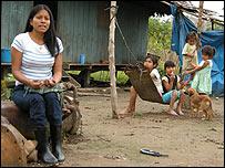 Petronila Chumpi, 29, Achuar tribe