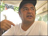 President of Loreto, Ivan Vasquez
