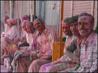India Holi festival (Pic: Heather Sharp)