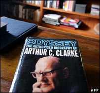 Sir Arthur C Clarke's office in Colombo