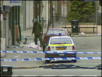 Warrington bomb aftermath