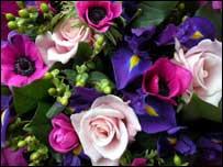 Bouquet of flowers, BBC