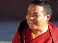 Tsultrim, the deputy head lama of the Pel Kor monastery
