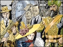 The League of Extraordinary Gentleman by Alan Moore and Kevin O'Neill