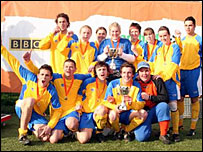 Portsea teams celebrate