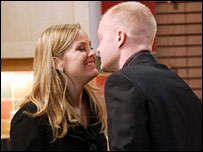 Jo Joyner and Max Branning in EastEnders
