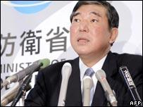 Defence Minister Shigeru Ishiba, 21/03