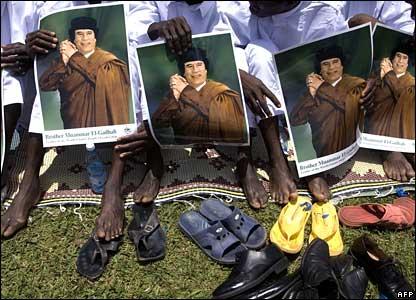 Gaddafi Idi Amin