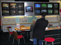Interior of Ladbrokes, W12