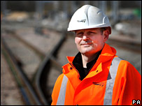 Railtrack Chief Executive Iain Coucher