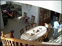 Interior of Abdul-Latif Nasif's house