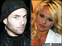 Rick Salomons and Pamela Anderson