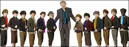 Alexander, Jonny, Harry, Laurence, Gareth, Sam, Graham Norton, Gwion, Arthur, Joseph, Chester, Jordan, Kwayedza