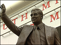 Ted Bates statue
