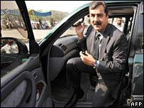 Yusuf Raza Gillani on 17 March 2008