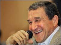 South Africa coach, Carlos Alberto Parreira