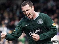 Scott McDonald opened the scoring for Celtic