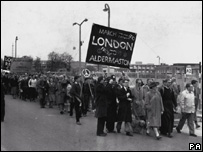Aldermaston march 1960