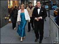 Guests arriving at Rainbow Room, NYC