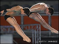 Thomas Daley and Blake Aldridge