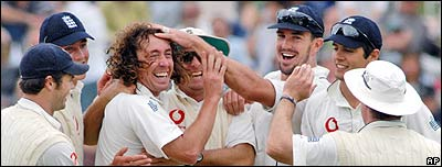 Ryan Sidebottom was England's star performer in the Test series