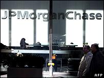 JP Morgan offices, New York