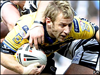 Leeds scrum-half Rob Burrow
