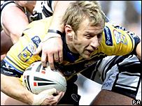 Leeds scrum-half Rob Burrow
