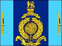 40 Commando Royal Marines insignia