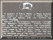 Image of the Madoc plaque