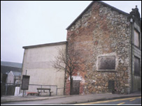 Blaenavon Library before regeneration