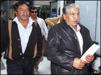 Guillermo Aisalia (a la derecha)