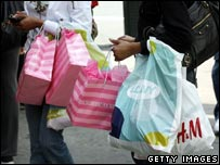 US shoppers