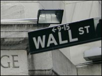 علامة شارع وول ستريت