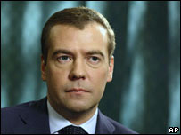 Dmitry Medvedev in his FT interview, 25 March