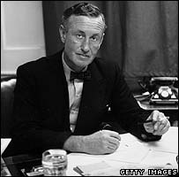 Ian Fleming, pictured in 1958