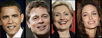 Obama y la estrella de Hollywood Brad Pitt son primos de novena generación