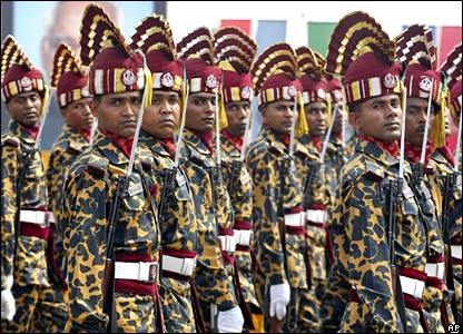 Independence Day parade in Bangladesh