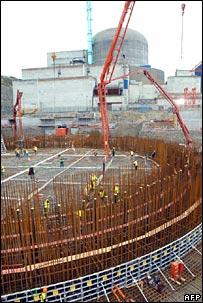 Building new nuclear power station. Image: AFP/Getty