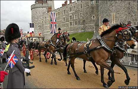 Parade at Windsor