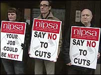 Nipsa said jobs would be lost across all sectors