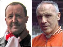 Jonathan Watson and Bill Shankly