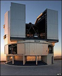 Observatorio astronómico en Antofagasta, Chile (foto de archivo).